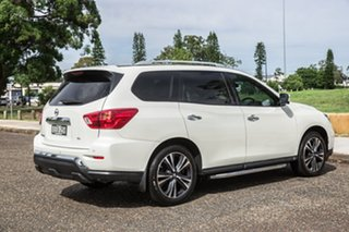 2018 Nissan Pathfinder R52 Series II MY17 Ti X-tronic 2WD White 1 Speed Constant Variable Wagon