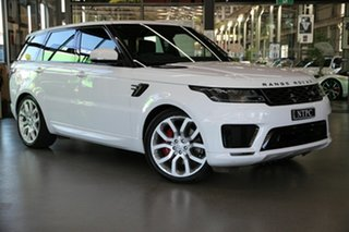 2018 Land Rover Range Rover Sport L494 18MY SDV8 HSE Dynamic White 8 Speed Sports Automatic Wagon.