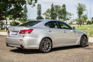 2012 Lexus IS USE20R MY13 IS F Silver 8 Speed Sports Automatic Sedan