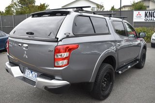 2015 Mitsubishi Triton MQ MY16 GLS Double Cab Grey 5 Speed Sports Automatic Utility.
