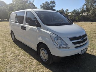 2008 Hyundai iLOAD TQ-V Crew Cab White 5 Speed Manual Van.