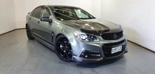 2014 Holden Commodore VF MY15 SS V Prussian Steel 6 Speed Manual Sedan.