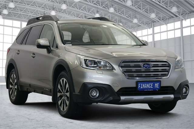Used Subaru Outback B6A MY16 2.5i CVT AWD Premium Victoria Park, 2016 Subaru Outback B6A MY16 2.5i CVT AWD Premium Tungsten Metal 6 Speed Constant Variable Wagon