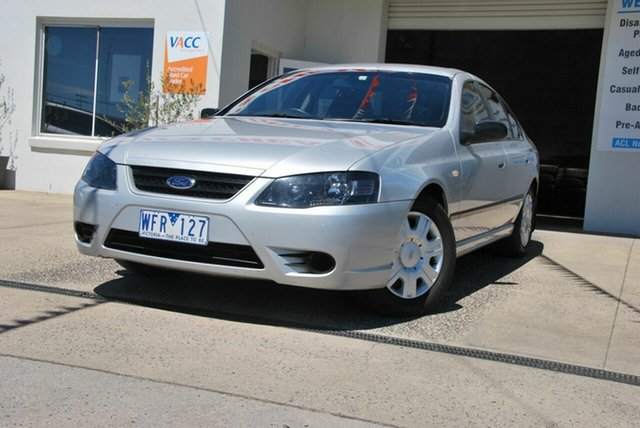 Used Ford Falcon BF MkII 07 Upgrade XT Wendouree, 2007 Ford Falcon BF MkII 07 Upgrade XT Silver 4 Speed Auto Seq Sportshift Sedan