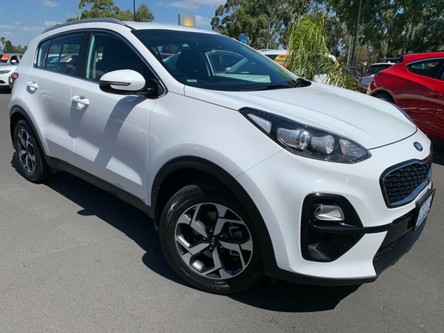 Used Kia Sportage QL MY19 Si 2WD Bunbury, 2019 Kia Sportage QL MY19 Si 2WD White 6 Speed Sports Automatic Wagon