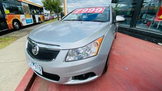 2011 Holden Cruze JH Series II MY12 CD Silver 6 Speed Sports Automatic Sedan