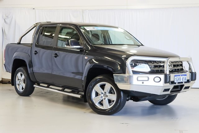 Used Volkswagen Amarok 2H MY17 TDI550 4MOTION Perm Highline Wangara, 2017 Volkswagen Amarok 2H MY17 TDI550 4MOTION Perm Highline Blue 8 Speed Automatic Utility