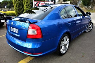 2010 Skoda Octavia 1Z MY10 RS Blue 6 Speed Manual Liftback.