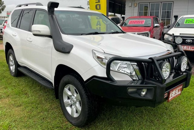 Used Toyota Landcruiser Prado GDJ150R GXL Winnellie, 2017 Toyota Landcruiser Prado GDJ150R GXL White 6 Speed Sports Automatic Wagon