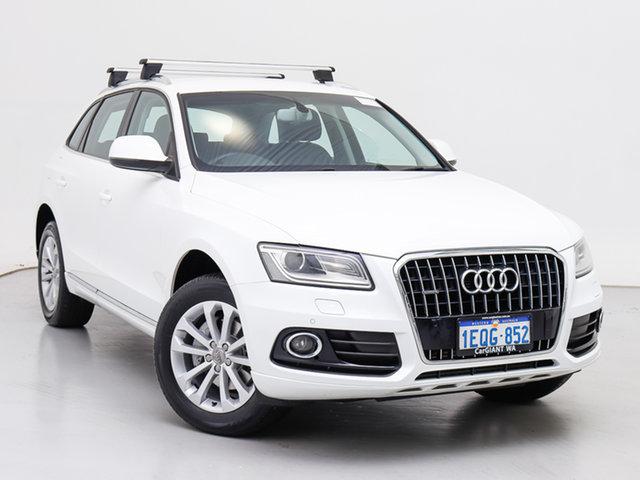 Used Audi Q5 8R MY14 2.0 TDI Quattro, 2014 Audi Q5 8R MY14 2.0 TDI Quattro White 7 Speed Auto Dual Clutch Wagon