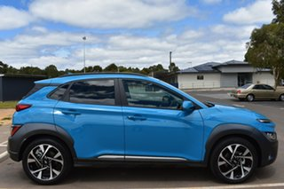 2020 Hyundai Kona Os.v4 MY21 Highlander 2WD Dive in Jeju 8 Speed Constant Variable Wagon.