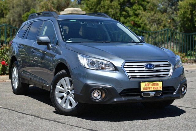 Used Subaru Outback B6A MY17 2.0D CVT AWD Enfield, 2017 Subaru Outback B6A MY17 2.0D CVT AWD Grey 7 Speed Constant Variable Wagon