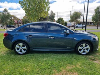 2011 Holden Cruze JH Series II MY11 SRi-V Blue 6 Speed Manual Sedan.
