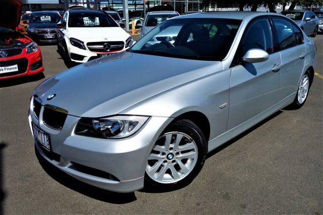 Used BMW 3 Series E90 320i Steptronic Executive Seaford, 2007 BMW 3 Series E90 320i Steptronic Executive Silver 6 Speed Automatic Sedan