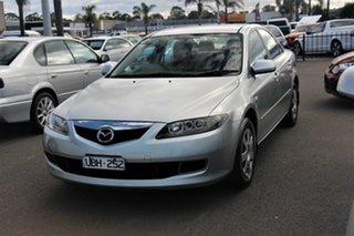 2005 Mazda 6 GG1032 Limited Silver 5 Speed Sports Automatic Sedan