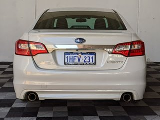 2015 Subaru Liberty B6 MY15 3.6R CVT AWD White 6 Speed Constant Variable Sedan