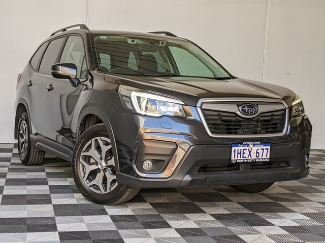 Used Subaru Forester S5 MY19 2.5i CVT AWD Victoria Park, 2019 Subaru Forester S5 MY19 2.5i CVT AWD Grey 7 Speed Constant Variable Wagon