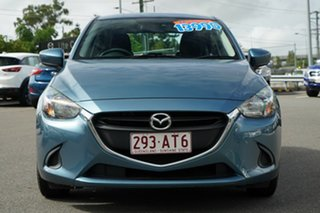 2016 Mazda 2 DJ2HA6 Neo SKYACTIV-MT Blue 6 Speed Manual Hatchback.