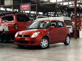 2006 Suzuki Swift RS415 Orange 5 Speed Manual Hatchback.