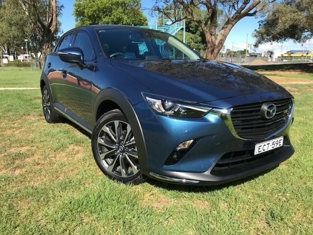 Used Mazda CX-3 DK MY19 S Touring (FWD) Wangaratta, 2019 Mazda CX-3 DK MY19 S Touring (FWD) Blue 6 Speed Automatic Wagon