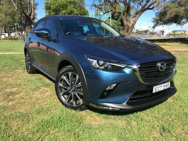 Used Mazda CX-3 DK MY19 S Touring (FWD) Wangaratta, 2019 Mazda CX-3 DK MY19 S Touring (FWD) Blue 6 Speed Automatic Wagon