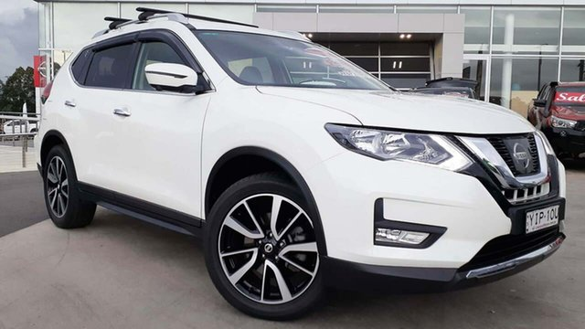 Used Nissan X-Trail T32 Series II ST-L X-tronic 2WD Liverpool, 2018 Nissan X-Trail T32 Series II ST-L X-tronic 2WD Ivory Pearl 7 Speed Constant Variable Wagon