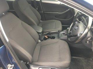 2016 Volkswagen Jetta 1B 118TSI Trendline Blue Sports Automatic Dual Clutch