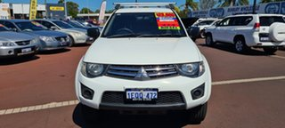 2014 Mitsubishi Triton MN MY15 GLX Double Cab 4 Speed Sports Automatic Utility.