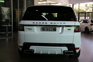 2018 Land Rover Range Rover Sport L494 18MY SDV8 HSE Dynamic White 8 Speed Sports Automatic Wagon