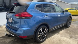 2017 Nissan X-Trail T32 Ti X-tronic 4WD Blue 7 Speed Constant Variable Wagon