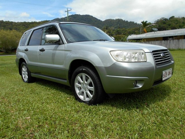 Used Subaru Forester MY07 X Luxury Bungalow, 2007 Subaru Forester MY07 X Luxury Silver 5 Speed Manual Wagon