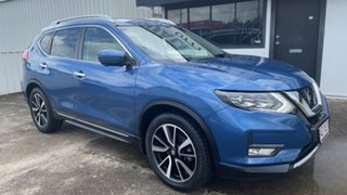 2017 Nissan X-Trail T32 Ti X-tronic 4WD Blue 7 Speed Constant Variable Wagon.