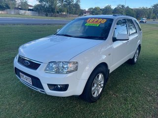 2010 Ford Territory SY MkII TS RWD White 4 Speed Sports Automatic Wagon