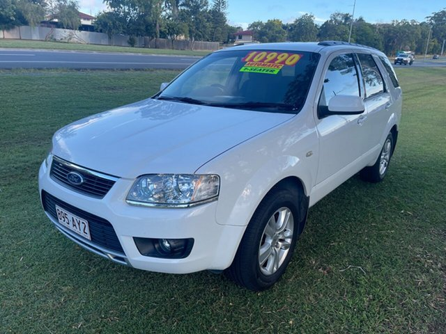 Used Ford Territory SY MkII TS RWD Clontarf, 2010 Ford Territory SY MkII TS RWD White 4 Speed Sports Automatic Wagon