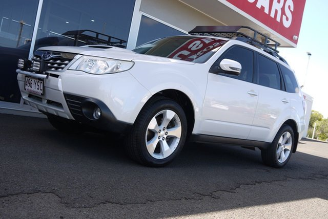 Used Subaru Forester S3 MY12 2.0D AWD Premium Bundaberg, 2012 Subaru Forester S3 MY12 2.0D AWD Premium White 6 Speed Manual Wagon
