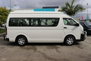 2017 Toyota HiAce TRH223R Commuter High Roof Super LWB French Vanilla 6 speed Automatic Bus