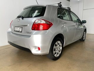 2011 Toyota Corolla ZRE152R MY11 Ascent Sport Silver 6 Speed Manual Hatchback.