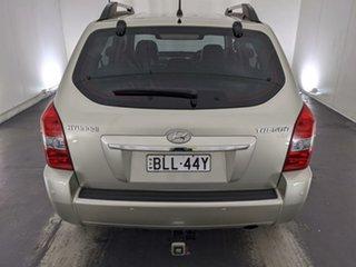 2008 Hyundai Tucson JM MY07 City Elite Silver 4 Speed Sports Automatic Wagon