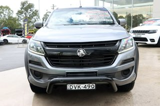 2018 Holden Colorado RG MY18 LS Pickup Crew Cab Satin Grey 6 Speed Sports Automatic Utility