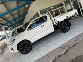2020 Toyota Hilux SR White Sports Automatic Cab Chassis - Extended Cab