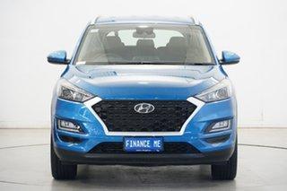 2020 Hyundai Tucson TL3 MY21 Elite D-CT AWD Aqua Blue 7 Speed Sports Automatic Dual Clutch Wagon.