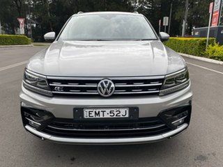 2017 Volkswagen Tiguan 5N MY18 162TSI DSG 4MOTION Highline Silver 7 Speed.