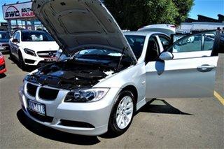 2007 BMW 3 Series E90 320i Steptronic Executive Silver 6 Speed Automatic Sedan