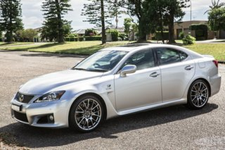 2012 Lexus IS USE20R MY13 IS F Silver 8 Speed Sports Automatic Sedan.