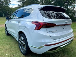 2020 Hyundai Santa Fe Tm.v3 MY21 Highlander Glacier White 8 Speed Sports Automatic Wagon