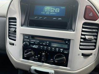 2005 Mitsubishi Pajero NP MY05 GLS Silver 5 Speed Sports Automatic Wagon