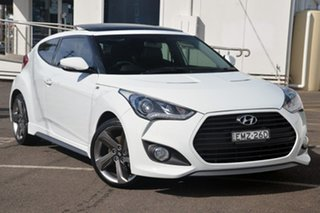 2013 Hyundai Veloster FS3 SR Coupe Turbo White 6 Speed Manual Hatchback.