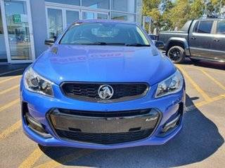 2017 Holden Commodore VF II MY17 SS V Sportwagon Redline Blue 6 Speed Sports Automatic Wagon.
