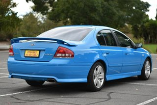 2005 Ford Falcon BF XR6 Blue 4 Speed Automatic Sedan