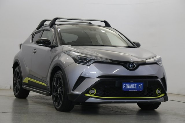 Used Toyota C-HR NGX50R Koba S-CVT AWD Victoria Park, 2017 Toyota C-HR NGX50R Koba S-CVT AWD Silver 7 Speed Constant Variable Wagon
